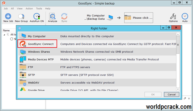GoodSync 11.8.2.2 Crack With Activation Key 2021 Free Download