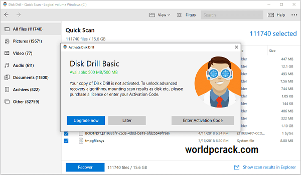 Disk Drill 4.0.537.0 Crack With Activation Code Free Download