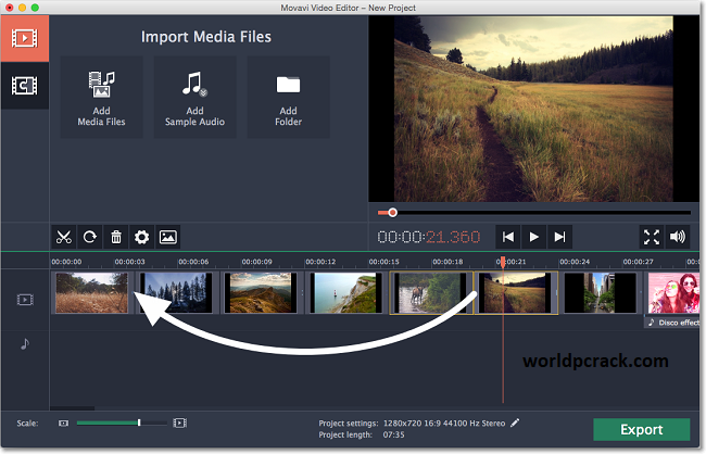Movavi Video Editor 21.4.0 Crack With Activation Key Free Download